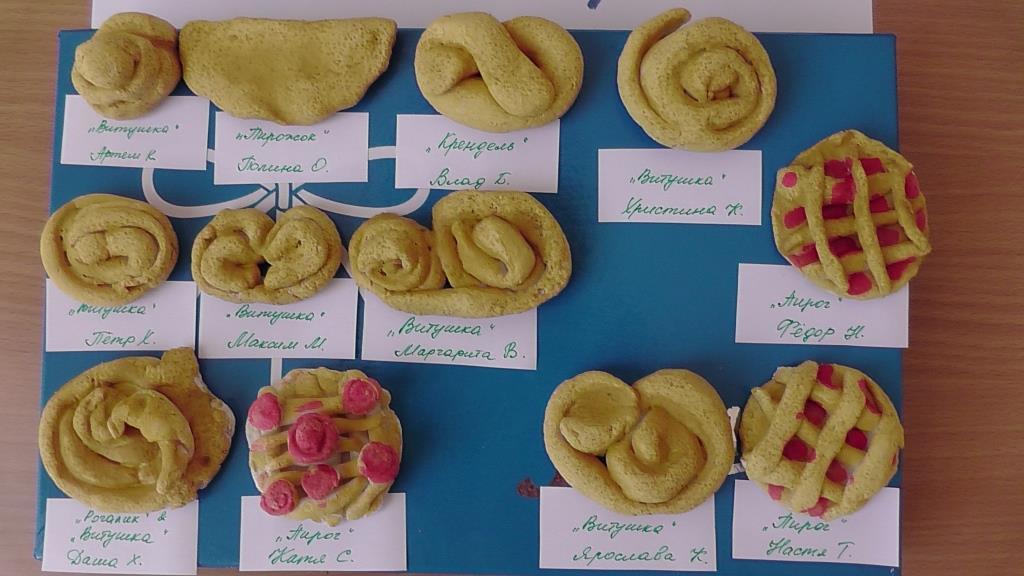 Поделки из теста хлеб 353